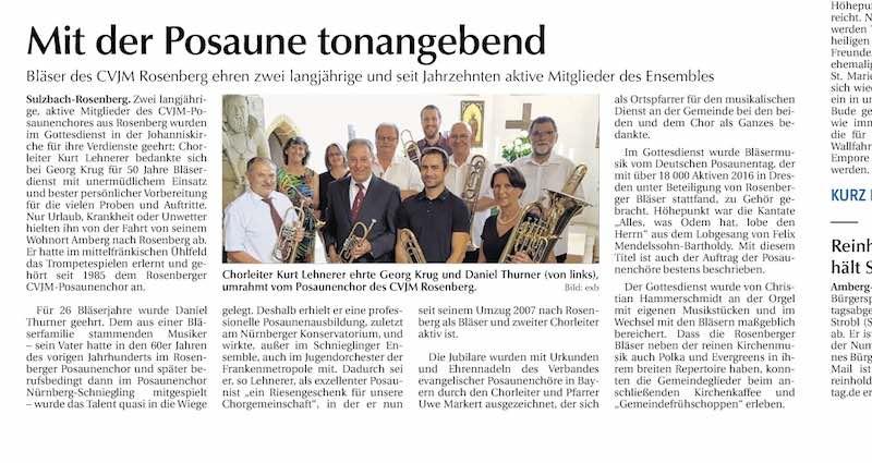 Sulzbach Rosenberg Zeitung